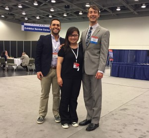 Andrew Fakhoury MWU D-4, Yin Cao, MWU D-2 & Christian Piers, University of Colorado, D-4 and President ASDA