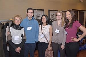 Drs. Sue Bishop; Dr. Ian Montes, Shruti Pore, Sara May, Ellen Hailemelecot
