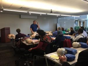 CPR Instructor Michael Egan