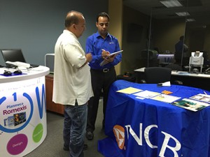 Dr. James Kakos with Amit Gupta, VP PNC Healthcare Business Banking, Sponsor