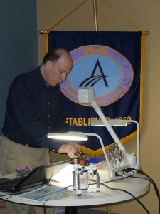 Dr. Neil Warshawsky demonstrating how to use Thermopliers®Pliers