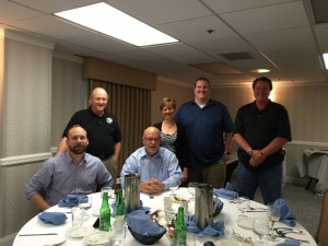 Dr. Aaron Wachtel, Rob Rheese, Drs. Tom Wachtel, Chery Mora, Andy Beer and Doug Brown Friday Night Mastertrack Dinner