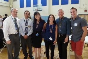 Dr. Kevin King, Dr. Ryan Vahdani, Yifan Wei, Emily Koufos, Philip Schefke, Dr. Ben Youel
