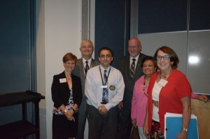 Drs. Cheryl Mora, Larry Williams, Ryan Farhani, Lex MacNeil, Theresa Lao and Kathleen O'Louglin