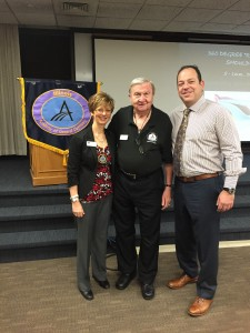 Drs. Cheryl Mora, Sy Wachtenheim and Ron Kaminer