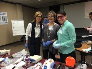 Drs. Houri Shafale, Susan Synder, and Yasmin Farid