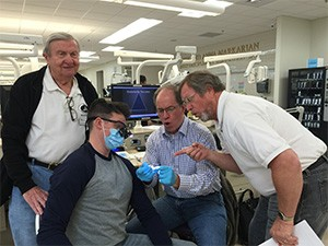 Dr. Brenden Moon, Dr. Paul Obrock, Dr. Kirk Hess, and Dr. Sy Wachtenheim found the MB6