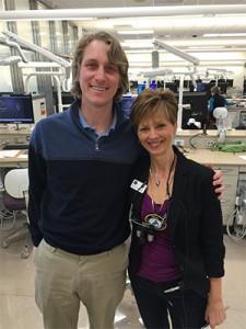 Drs. Erik Solberg and Cheryl Mora