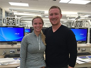 Drs. Mara Krill and Lucas Steele, SIU SDM GPR Residents