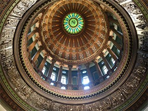 Illinois State Capital Ceiling