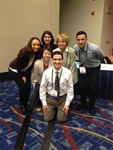 Drs. Ellen Hailemelecot, Shruti Pore, Sue Bishop, Emad Zaiti, Joyce Gomez and Ian Montes