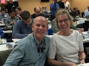 Drs. Tom Blake and Lena Fermback