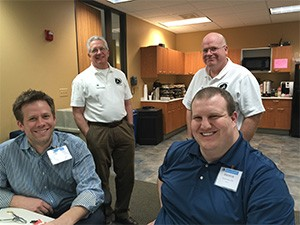 Drs. Bill Lawley, Jim Reichle, Bryan Bauer and Andy Beer