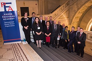 Pierre Fauchard Academy 2016 Inductees at the Chicago Cultural Center