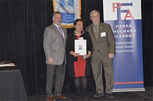 Dr. Theresa Lao, Illinois Inductee Pierre Fauchard Academy