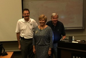 UIC COD Lunch & Learn Dr. George Zehak, speaker; Dr. Paula Jones and Dr. Sy Wachtenheim