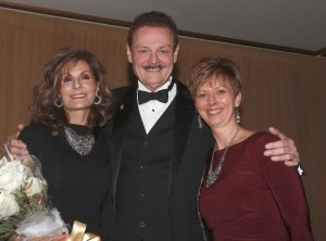 Dr. George Zehak and his wife, Maria and Dr. Cheryl Mora, Past President IL AGD