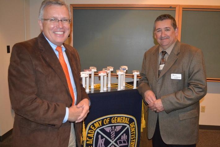 Dr. Jim Metz & Dr. Curt Mitchem, CIAGD President