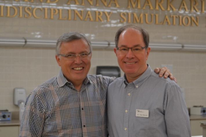 Dr. Jim Metz & Dr. Paul Obrock