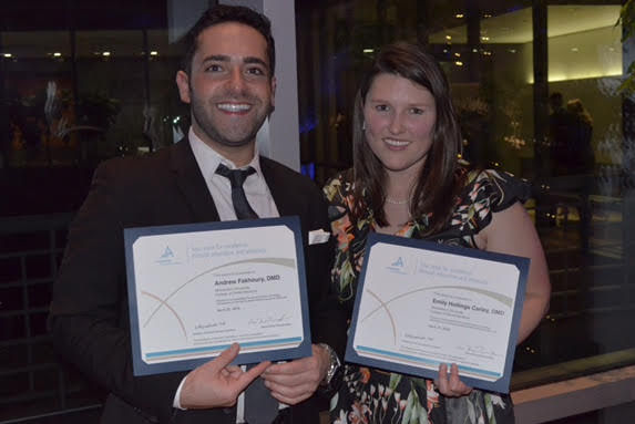 SSDA winners Andrew Fakhoury & Emily Hollings Carle from MWU CDMI